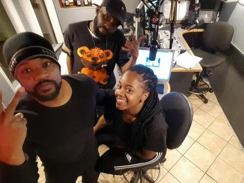 Live In Studio Daily Pics: Notorious VOG, Mallika, Cass, BMO, & Uncle Al